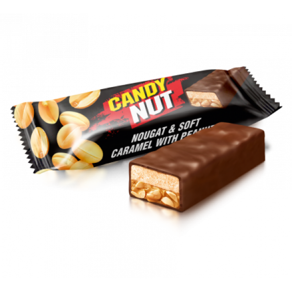 Candy Nut нуга и мягкая карамель с арахисом 1 кг