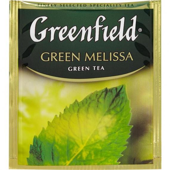 Greenfield Green Melissa 100 пакетов